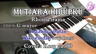 Download lagu MUTIARA HIDUPKU - Rhoma Irama - Karaoke Dangdut Korg Pa300