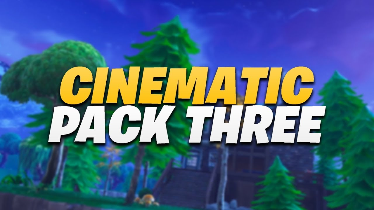FORTNITE BATTLE ROYALE CINEMATIC PACK 3 1080P 60FPS 50 SHOT PACK YouTube