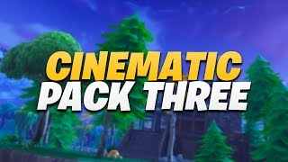 FORTNITE BATTLE ROYALE CINEMATIC PACK #3 | 1080P 60FPS | [50 SHOT PACK]
