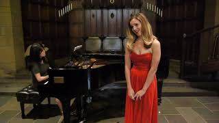 """Elyse Anne Kakacek sings """"Si, mi chiamano Mimi"""" from Puccini's La boheme"""