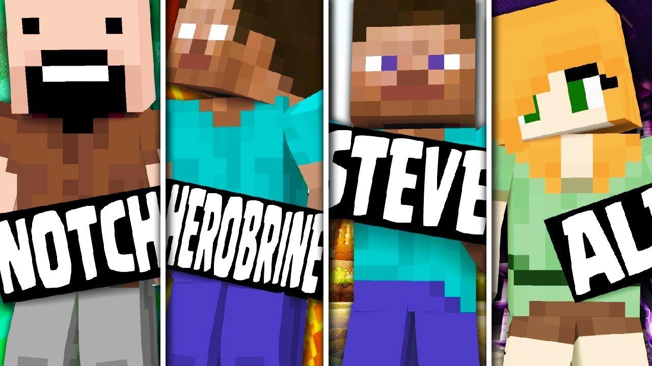 Minecraft Steve Vs Notch Vs Herobrine | www.pixshark.com ...