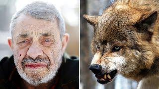 ОН ОСТАЛСЯ ЖИТЬ С ВОЛКАМИ, ест сырое мясо вместе со стаей. Вожак стаи волков.