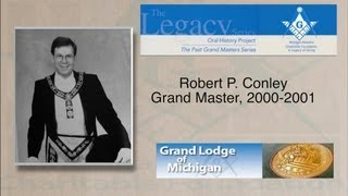 Grand Master Robert P. Conley, 2000-2001