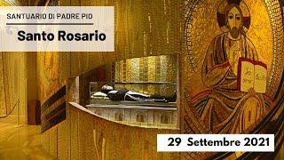 🔴 Santo Rosario - 29 settembre 2021 (fr. Carlo M. Laborde)