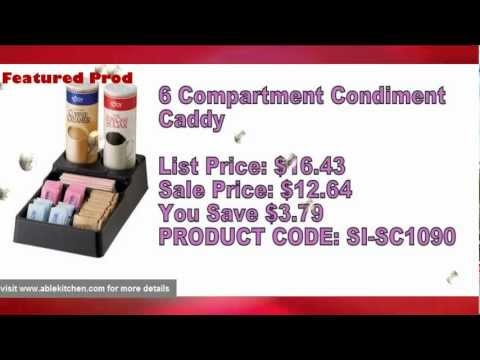 Condiment Caddies-Most Popular Commercial And Restaurant Supplies