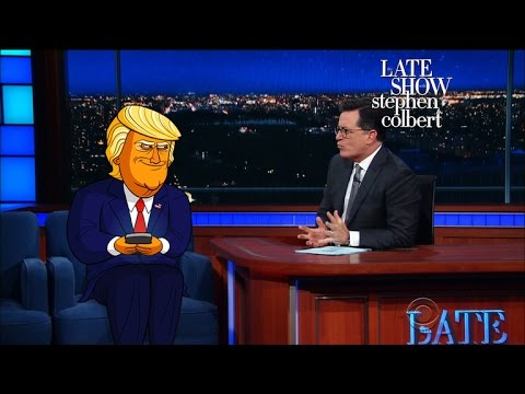 Donald Trump Animated Series From Stephen Colbert Headed to Showtime