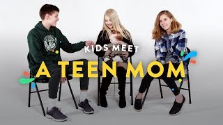 Kids Meet a Teen Mom | Kids Meet | HiHo Kids thumbnail