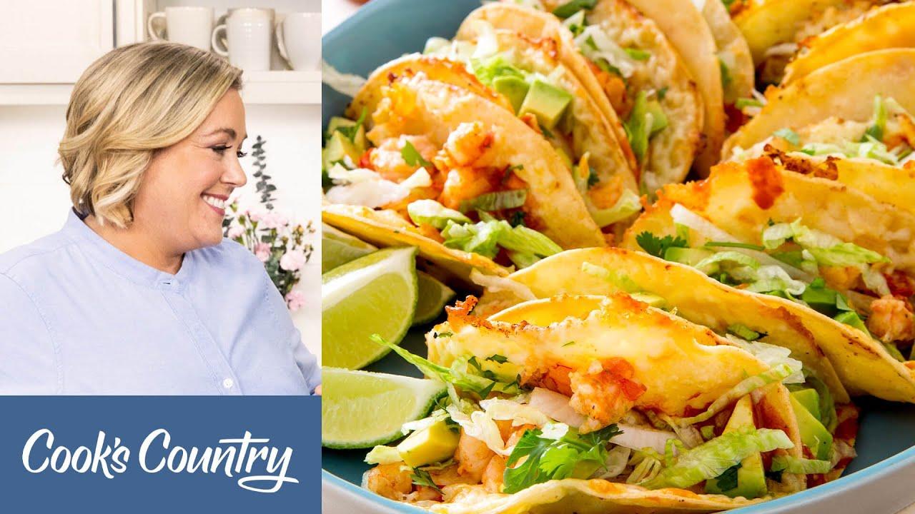 How to Make Crunchy Shrimp Tacos