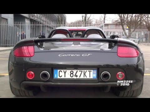 Porsche Carrera GT V10 Engine Start Up & Rev