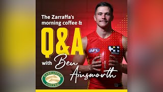 Cover images Zarraffa's Morning Coffee & Q&A: Ben Ainsworth