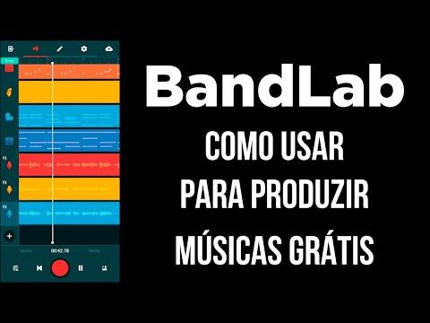 #BandLab - Como produzir músicas grátis no celular ou computador