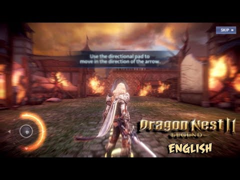 Dragon Nest 2 Legends (ENGLISH) – Geraint Gameplay Android/iOS Game (NEXON)
