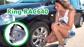 Ring RAC640 двухмоторный компрессор с автостопом, манометром и фонарем смотреть