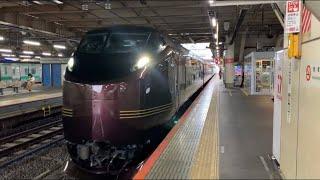 常磐線 上野駅8番線E655系 臨時列車発車