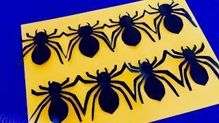 DIY: Halloween: Гирлянда Паук.Интересные поделки из бумаги. Декор комнаты на Хэллоуин.(DIY: Halloween: Гирлянда Паук.Интересные поделки из бумаги. Декор комнаты на Хэллоуин. Музыка из фонотеки ютуб..., 2016-10-21T08:00:02.000Z)