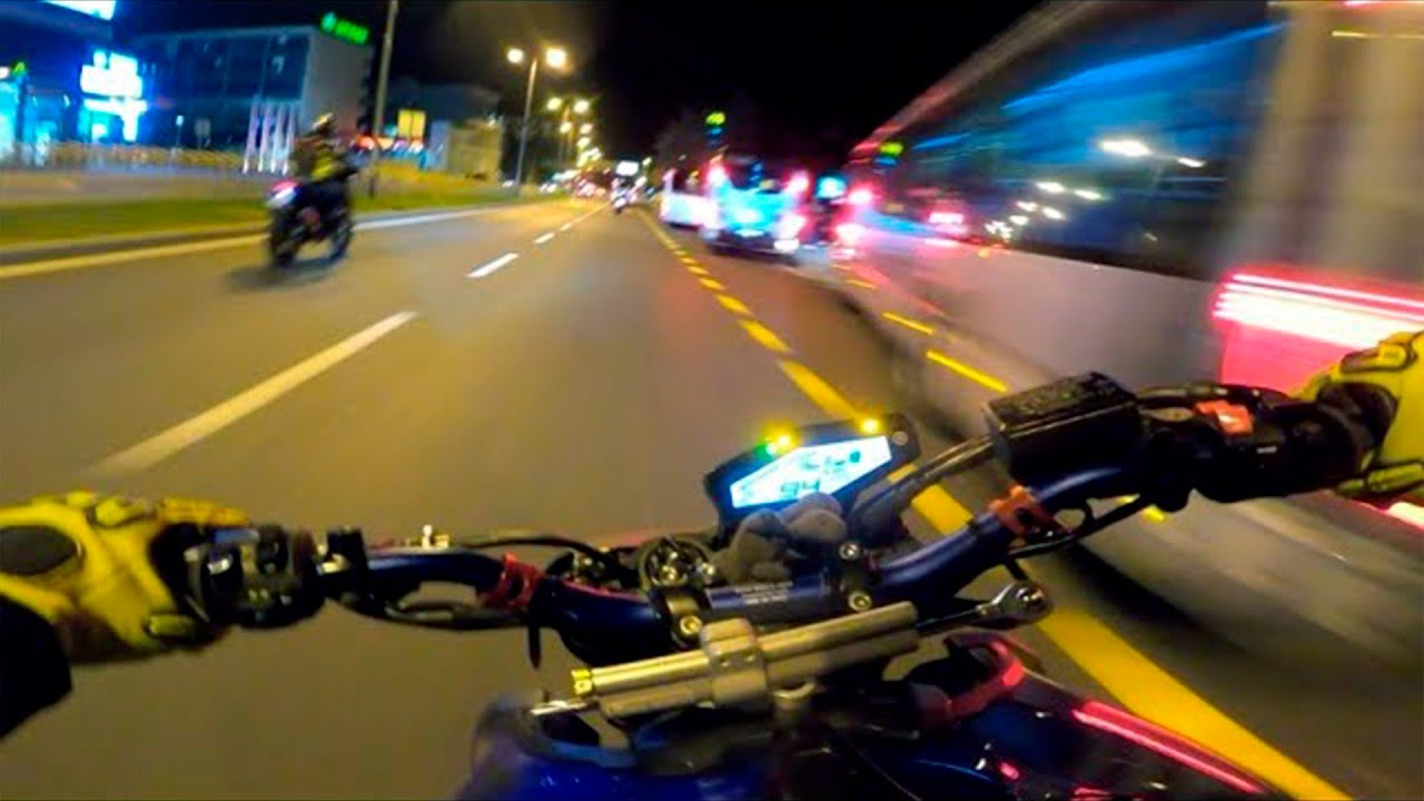 I couldn't sleep at night until I watched this... (Motorcycle sounds)
