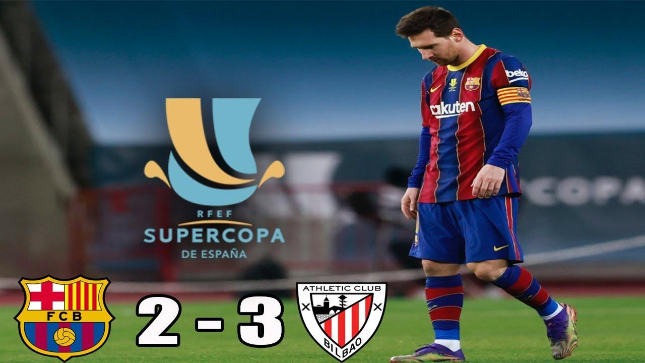 Download Barcelona vs Athletic Club (2-3) |  RESUMEN y GOLES | FINAL | Supercopa de España