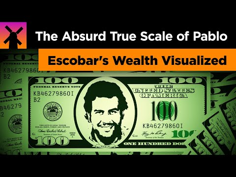 The Absurd True Scale of Pablo Escobar's Wealth Visualized