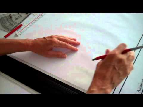 Architectural drawing - lettering guides