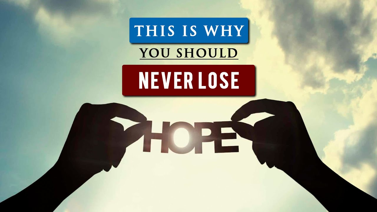 How to have HOPE IN LIFE when you FEEL HOPELESS | Daniel Maritz