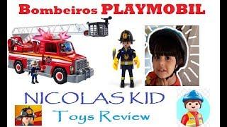 Caminhão de Bombeiros do Playmobil