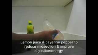 Lemon Juice & Cayenne Pepper for a Flat Tummy & Weight Loss