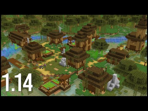 What Would A 1 14 Swamp Village Look Like In Minecraft