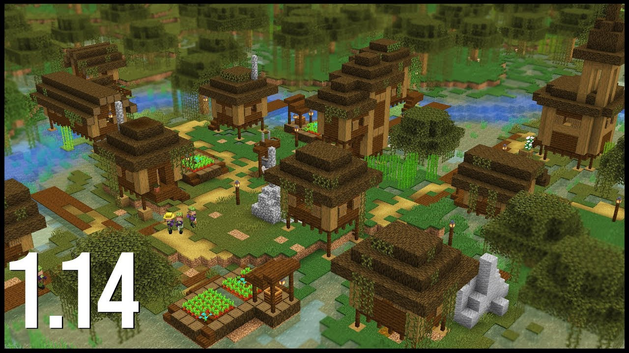 Download What Would A 1.14 Swamp Village Look Like In Minecraft?