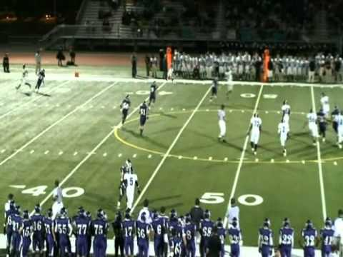 Mansel Simmons 2010 Senior Highlights.