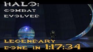 [WR] Halo: CE Legendary Speedrun in 1:17:34