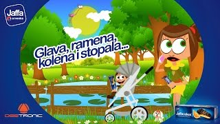 Repeat youtube video Glava ramena kolena i stopala (Head Shoulders Knees and Toes) 2015 by Deetronic powered by Jaffa