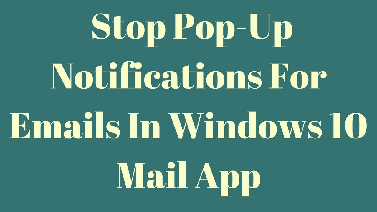 how to stop win 10 update notification