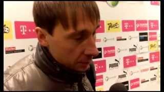 Sebastian Dudek po meczu ze Śląskiem Wrocław