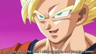 Dragonball super-Beerus vs ssj2 Goku FULL FIGHT