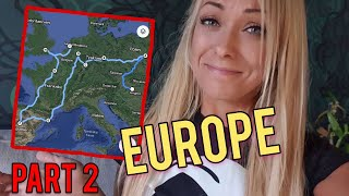 EUROPE PART 2 🌍, Hungary to Poland - Angelica Larsson
