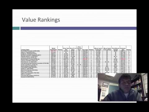 Valuation Tools Webcast #11: Enterprise Value, Firm Value an