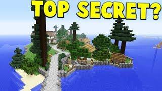 TOP SECRET ISLAND BASE FOUND?!  | Minecraft WAR #4
