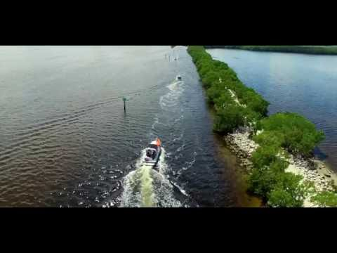 Biscayne National Park in Miami, Florida - Aerial Drone Vide