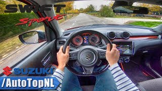 SUZUKI SWIFT SPORT 2019 1.4 Turbo POV Test Drive by AutoTopNL Video