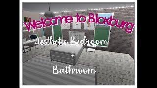 Roblox Speedbuild | Welcome to Bloxburg: Aesthetic Room + Bathroom