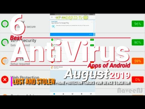 6 Best Antivirus Apps Of Android [August 2019]