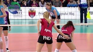 Volleyball highlights | Alba - Targoviste | April 2017
