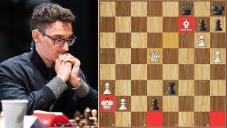 Monster Queen || Shirov vs Caruana || FIDE Chess.com Grand Swiss