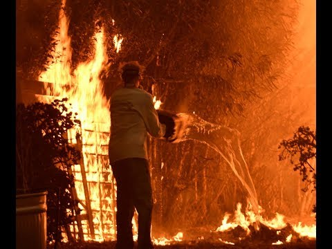 Fires continue to burn California at both ends, killing several
