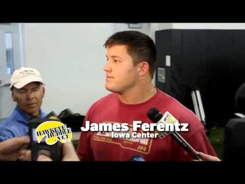 James Ferentz -- Iowa vs ISU