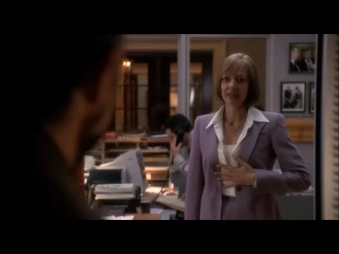 West Wing S04E23: Toby returns from the hospital