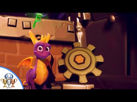 Spyro the Dragon - Twilight Harbor Gear Locations - What Really Grinds My Gears Trophy