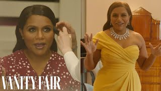 Behind Mindy Kaling's Oscars Look, From Makeup To Last Looks | Camera Ready | Vanity Fair