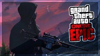GTA 5 ONLINE - AMAZING SNIPER LUCKSHOT! (Epischer Kill mit ANSAGE)