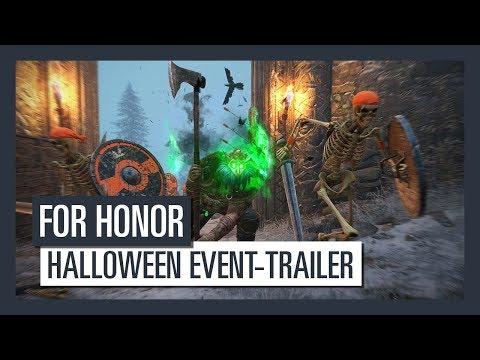 FOR HONOR - Halloween Event-Trailer   Ubisoft [DE]